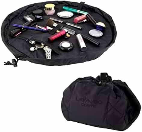 Lay-n-Go Cosmo (20 Inch) Cosmetic Bag, Black