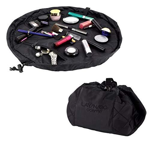 Lay-n-Go Cosmo 20 Inch Cosmetic Bag, Black