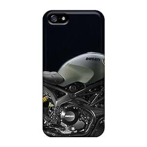 Iphone 5/5s Case Bumper Tpu Skin Cover For Diesel Ducati Monster Accessories