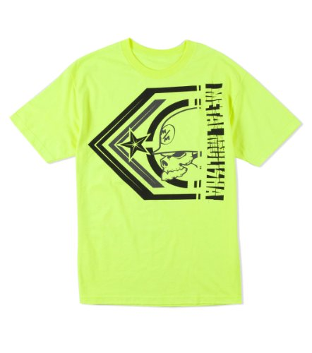 Metal Mulisha Herren T-Shirt - PLAY - day / neon-gelb
