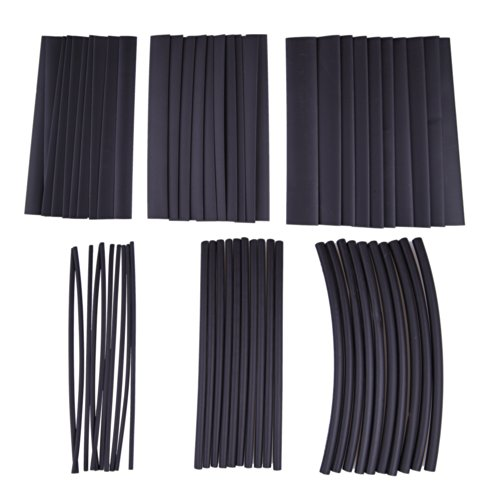 Vktech 60pcs Assortment Heat Shrink Tubing Tube Sleeving Wrap Wire 6 Sizes image