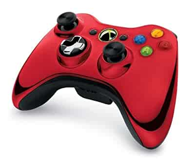 Amazoncom Xbox 360 Chrome Series Limited EditionXbox 360 Controller Chrome Series