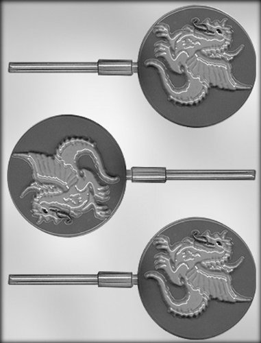 CK Products 3-Inch Dragon Sucker Chocolate Mold (Dragon Suckers)