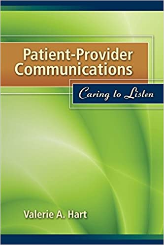 Book Patient-Provider Communications: Caring to Listen