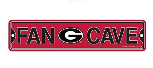 (Wincraft Georgia Fan Cave Plastic Street Sign 4 x 17 NCAA)