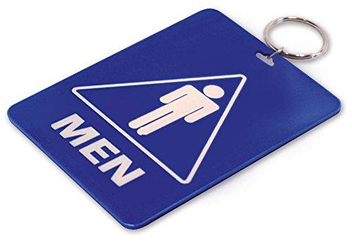 Lucky Line Restroom Key Tag, Mens (53100)