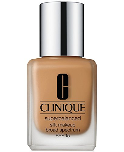 Clinique Superbalanced Silk Makeup Foundation SPF 15, 1 oz 30 ml, 07 Silk Sahara MF-G
