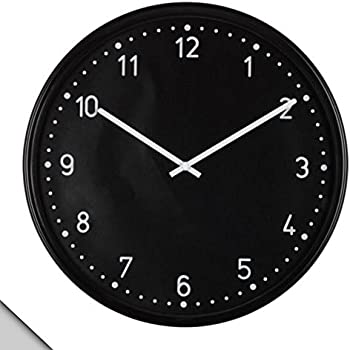 IKEA - BONDIS Wall Clock, Black