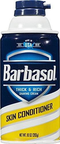 Barbasol Mens Shave Cream Skin Conditioner, 10 Ounce
