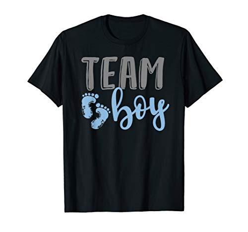 Team Boy Gender Reveal Baby Shower Shirt ()