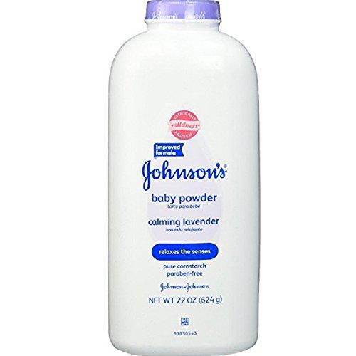 Johnson & Johnson Baby Powder Calming Lavender And Chamomile