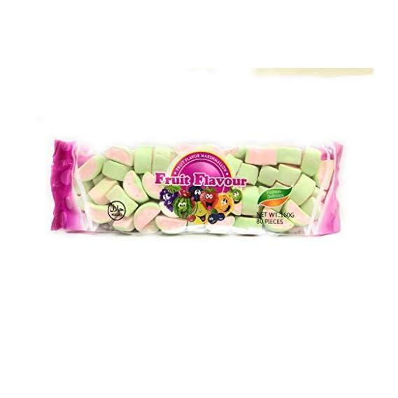 FRUIT FLAVOUR Marshmallow Watermelon 160g (80 Pieces)