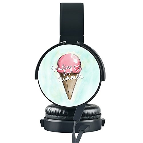 Ice Cream Wired Headset,INmark Fordable Headset [N...
