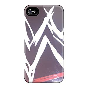 High Impact Dirt/shock Proof Case Cover For Iphone 4/4s (wwe Logo)