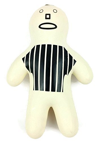 (Stress Man-REFEREE Human-shaped Stress Ball Frustration Diffuser Squeeze Toy for reducing stress.)