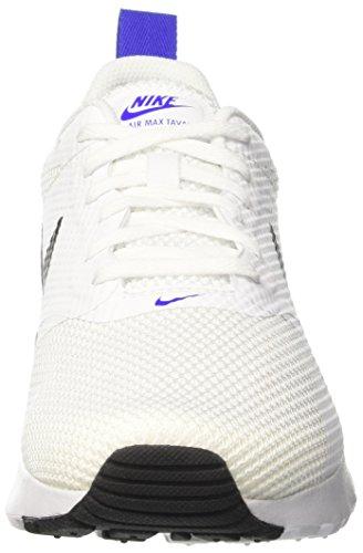 Nike Air Max Tavas - Zapatillas de Entrenamiento Hombre Blanco (White / Black / Paramount Blue)
