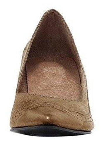 Best Connections Pumps - Zapatos de vestir de cuero para mujer marrón - Camel