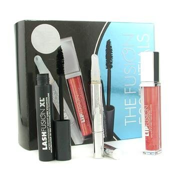 Fusion Beauty Other, 3pcs The Fusion Essentials 3 Pieces Kit: Lash Volumizer + Target Magic Wand + Lip Plump for Women