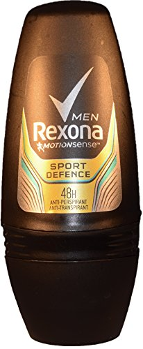 Rexona Roll Men Anti-Perspirant -Anti-Transpirant 48H 50Ml/1.69Oz (6X50Ml/1.69OZ, Sport Defense)