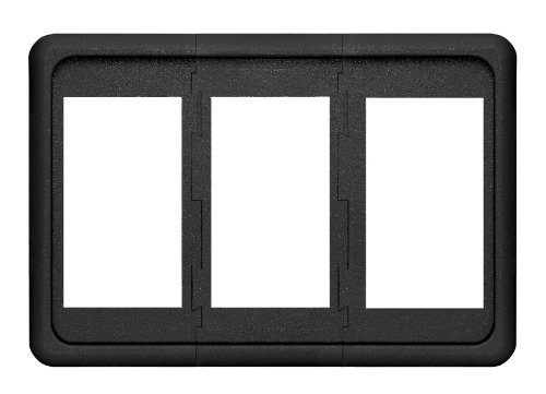 Contura Switch Mounting Panel (Blue Sea Systems Contura 3 Position Switch Mounting Panel)