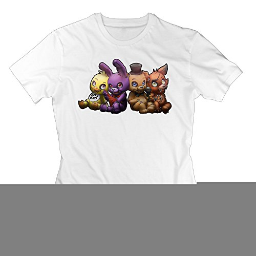 Graphic Design Colleges Vintage Woman Five Nights At Freddy's White T - Show Shops Fashion At Mall