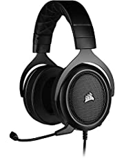 Corsair HS50 Pro - Stereo Gaming Headset - Works with PC, Mac, Xbox One, PS4, Nintendo Switch, iOS and Android - Carbon