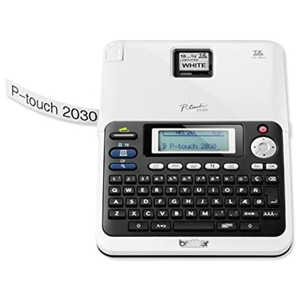 Amazon Com Brother P Touch Pt 2030 Label Maker Office Products