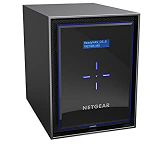 NETGEAR ReadyNAS RN426E4 6 Bay 24TB Enterprise High Performance NAS, 60TB Capacity Network Attached Storage, Intel 2.1GHz Quad Core Processor, 4GB RAM (B071S48DN7) | Amazon price tracker / tracking, Amazon price history charts, Amazon price watches, Amazon price drop alerts