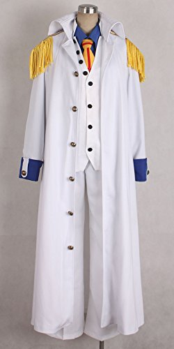 Onecos One Piece Aokiji Kuzan Navy Admiral Cosplay Costume by Onecos