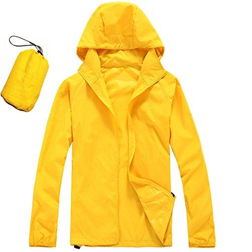 [해외]아디 손 여성의 빠른 건조 프론트 - 지퍼 경량 포장 까마귀 야외 비옷 재킷/Adison Women`s Men`s Quick-Drying Front-Zip Lightweight Packable Hoodie Outdoor Raincoat Jacket