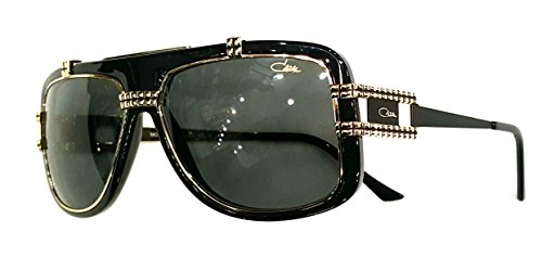 Cazal 661/3 Sunglasses 001 Black Gold - Sunglasses Cazal Gold