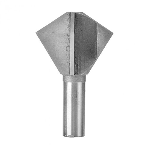8 Sided Wood Router Bit Bird's Mouth Glue Joint Router Bit 1/2 Shank Wood Milling Cutter Woodworking Tool