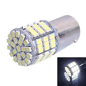 1156/BA15S 7.5W 500LM 85x 3020SMD LED blanco para coche a su vez lenklicht/freno lámpara de luz (12V DC)
