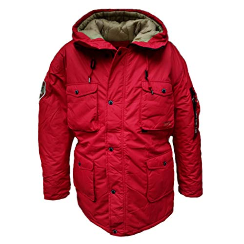 Parka Longues Blouson Industries Manches Speed Alpha Red Homme qz6R7xPEw