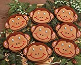 Silly Monkey Cookie Favors