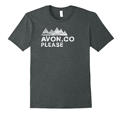 ed Avon Please T Shirt XL Dark Heather (Avon T-shirt T-shirts)