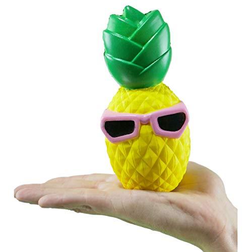 Kutzi Mutzi Jumbo Squishy Kawaii Pineapple Cream Scented Squishies Slow Rising Decompression Squishy Toys Children Simulation Cute Pineapple Toys ()