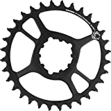SRAM X-Sync 2 Steel Direct Mount Chainring - Boost Black, 30T, 3mm Offset