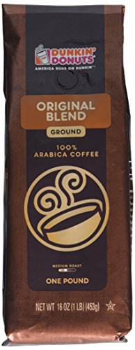 Dunkin Donuts Footing Coffee - Original Blend, 1-lb