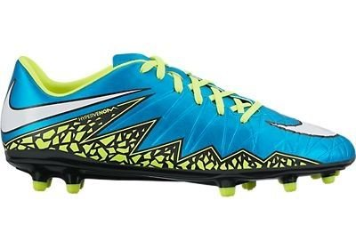 NIKE Womens Hypervenom Phelon 2 FG Firm Ground Soccer Cleats 6 1/2 US, Blue Lagoon by NIKE