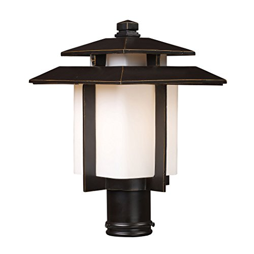 - Kanso 1 Light Outdoor Pier Mount In Hazelnut Bronze