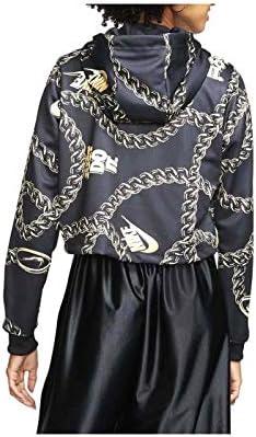 Nike Sportswear Icon Clash Women's Crop Top Hoodie Cj6305-010