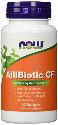 NOW AlliBiotic Non Drowsy CF Softgels