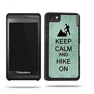 Keep Calm And Hike On Teal-Floral Google Nexus 4 Case - For Nexus 4