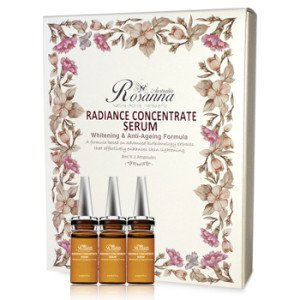 Rosanna Radiance Concentrate Serum with Anti-ageing and Whitening Formula