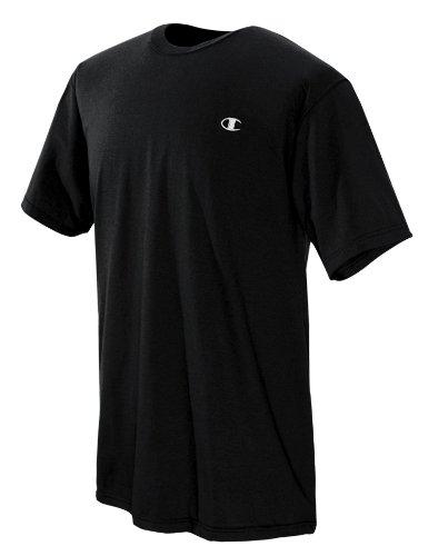 Champion Men's Jersey T-Shirt, Black, Small