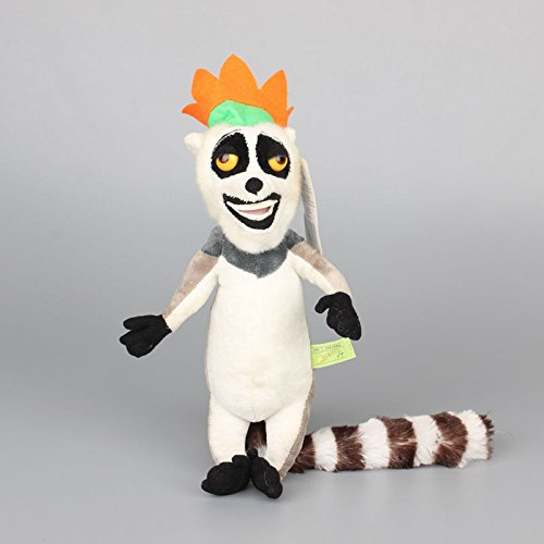 Madagascar King Julien 8 Inch Toddler Stuffed Plush Kids Toys - Super Mario Bros Toad Costume For Baby