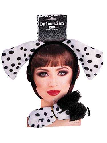 Forum Novelties 76846 Dalmatian Dog Ears and Tail