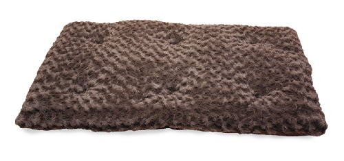 NAP Pet Bed Ultra Soft Plush Pillow Pet Bed, Chocolate, 28-Inch by 48-Inch, My Pet Supplies