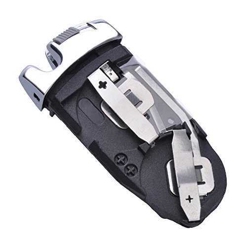 TOFNK Battery Holder Container For Mercedes Benz Keyless Entry FOB Smart Remote Key